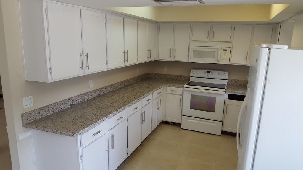 Whole kitchen after remodel