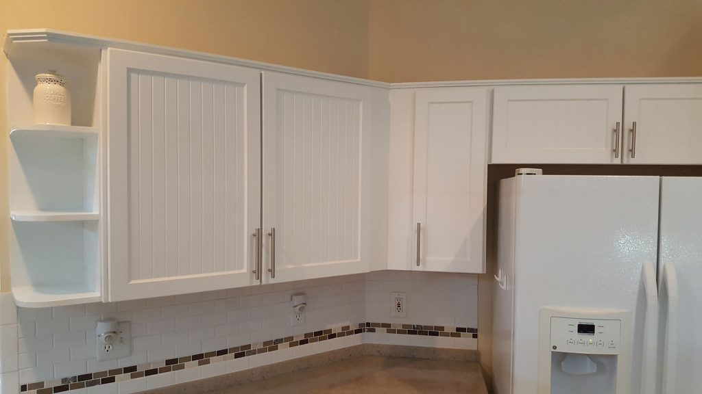 Kitchen cabinets after renovation
