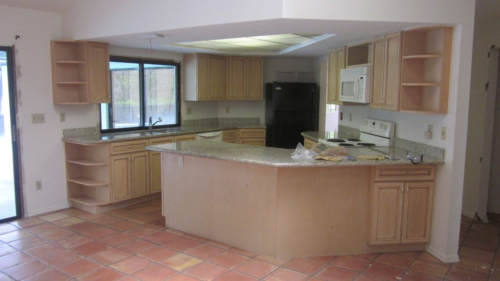 Other view of kitchen before renovation