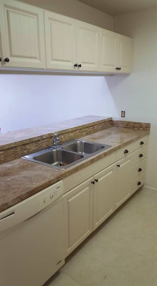 Condo kitchen after remodel