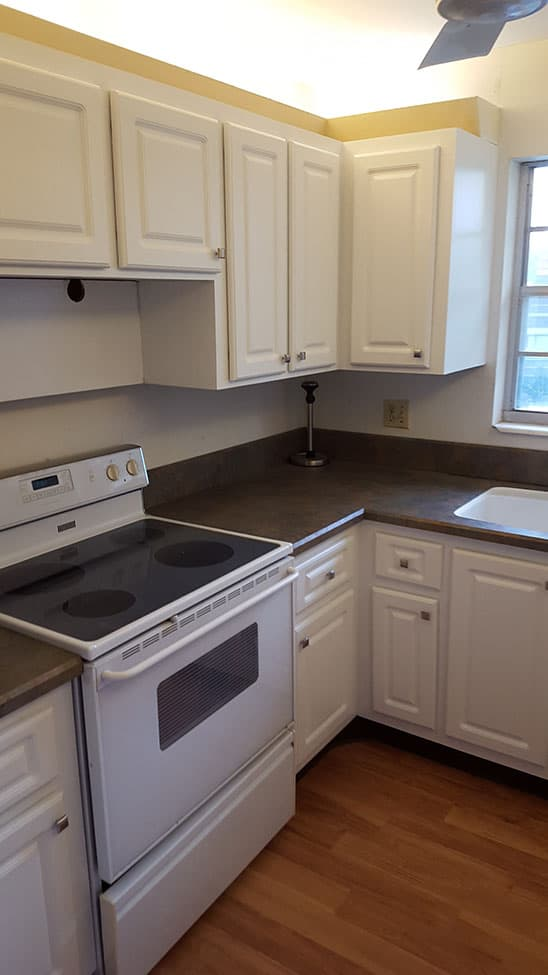 Renovated kitchen results