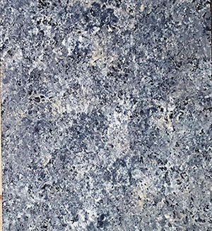 blue and white textured countertop surface sample