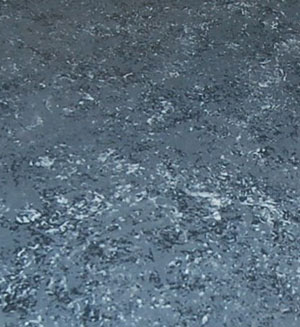 blue speckled countertop surface sample