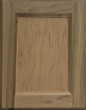 Rough wood grain cabinet door sample