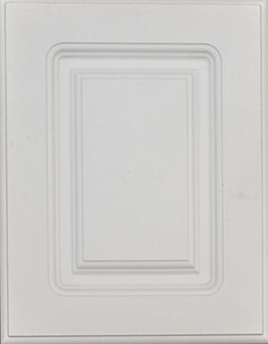 White molding cabinet door sample