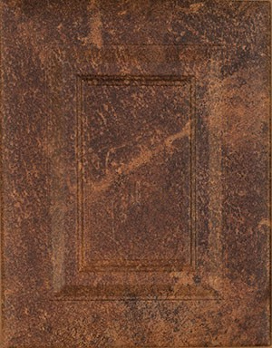Splattered cabinet door sample