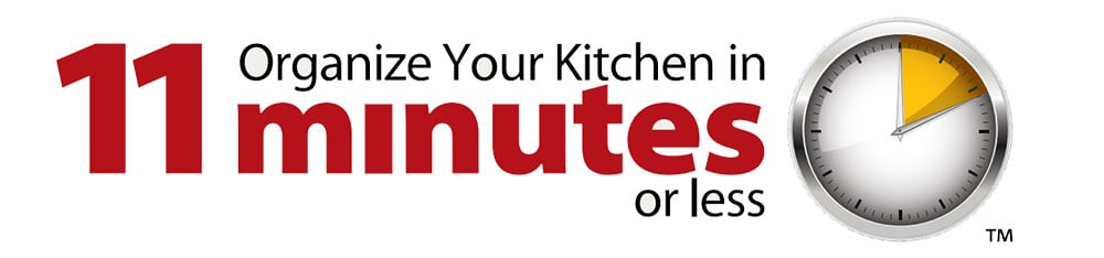 Organize Your Kitchen in 11 minutes or less logo